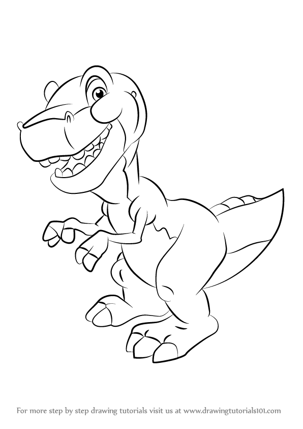 Petrie Flying Over Cera Land Before Time Coloring Page | Coloring ... | 843x596