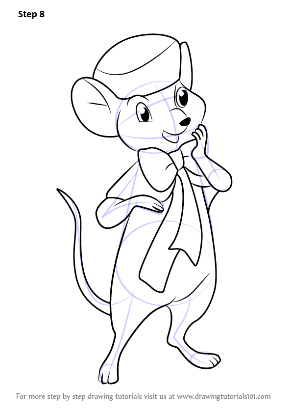Learn How To Draw Miss Bianca From The Rescuers The