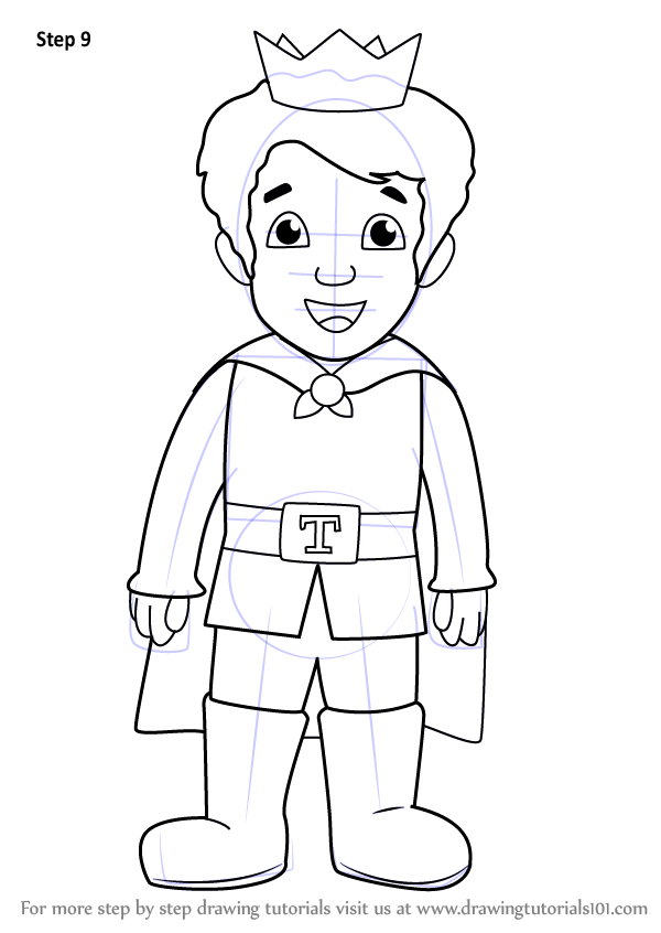 Learn How To Draw Prince Tuesday From Daniel Tigers