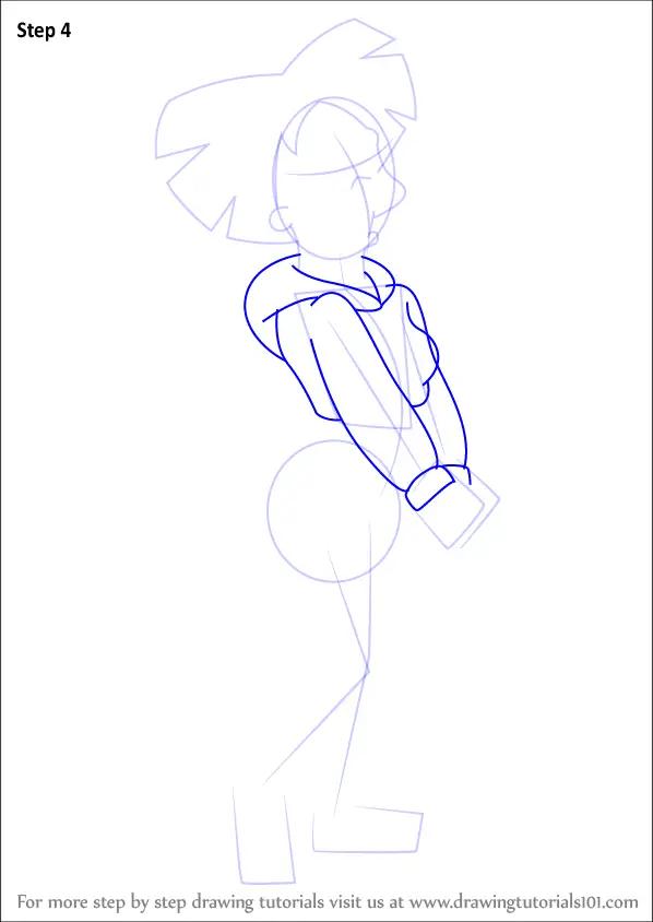 Learn How To Draw Amy Wong From Futurama Futurama Step