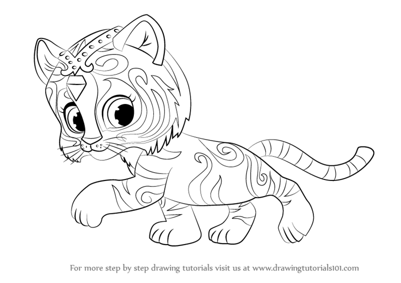 shimmer and shine coloring pages coloring pages