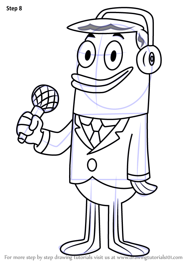 Learn How To Draw Perch Perkins From SpongeBob SquarePants