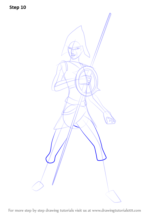 Learn How To Draw Seventh Sister From Star Wars Rebels Star Wars Rebels Step By Step Drawing