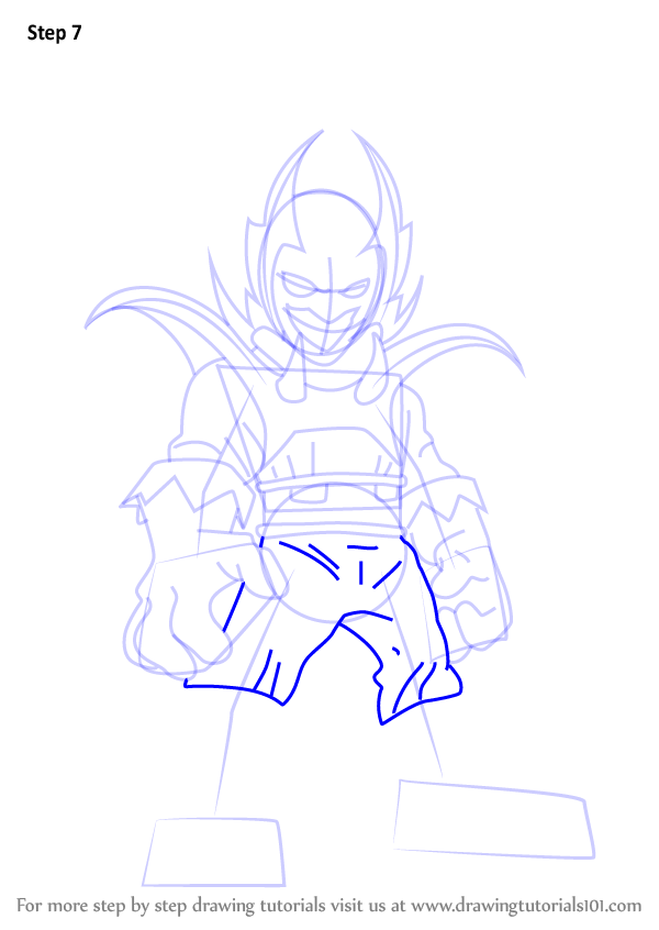 Learn How To Draw Dormammu From The Super Hero Squad Show