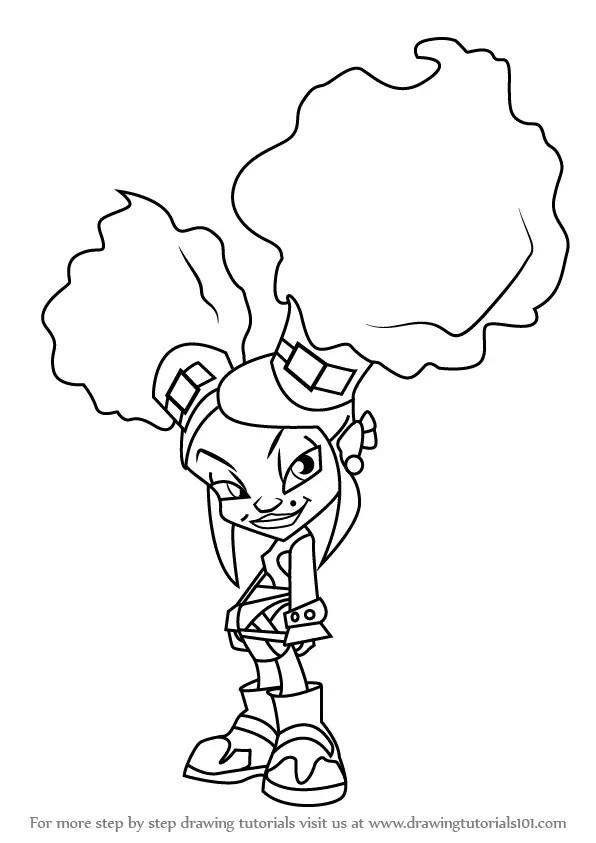 Learn How To Draw Onyx Von Trollenberg From Trollz Trollz