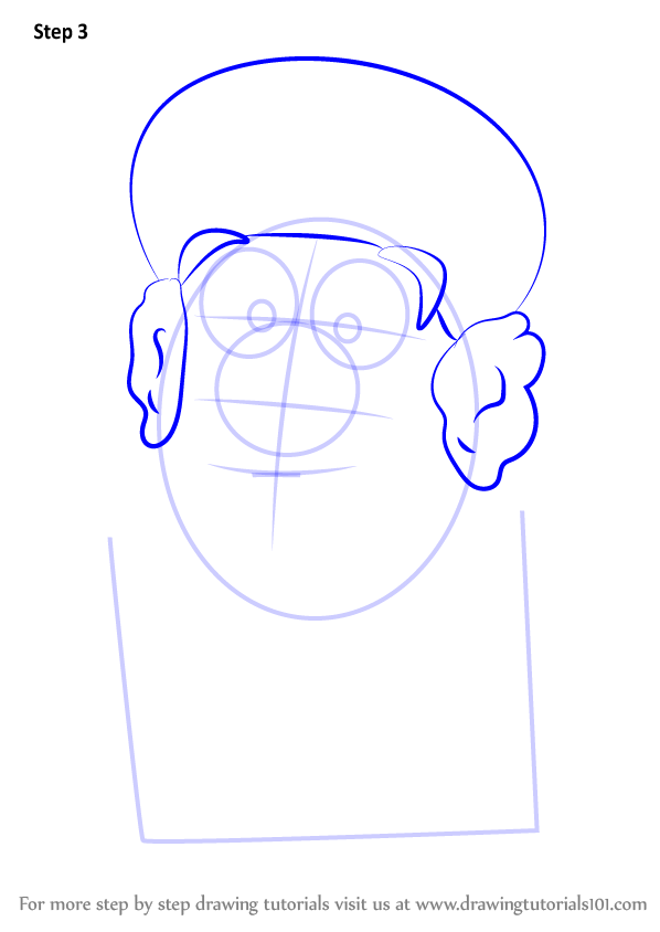 Learn How To Draw Grandma Gourd From VeggieTales