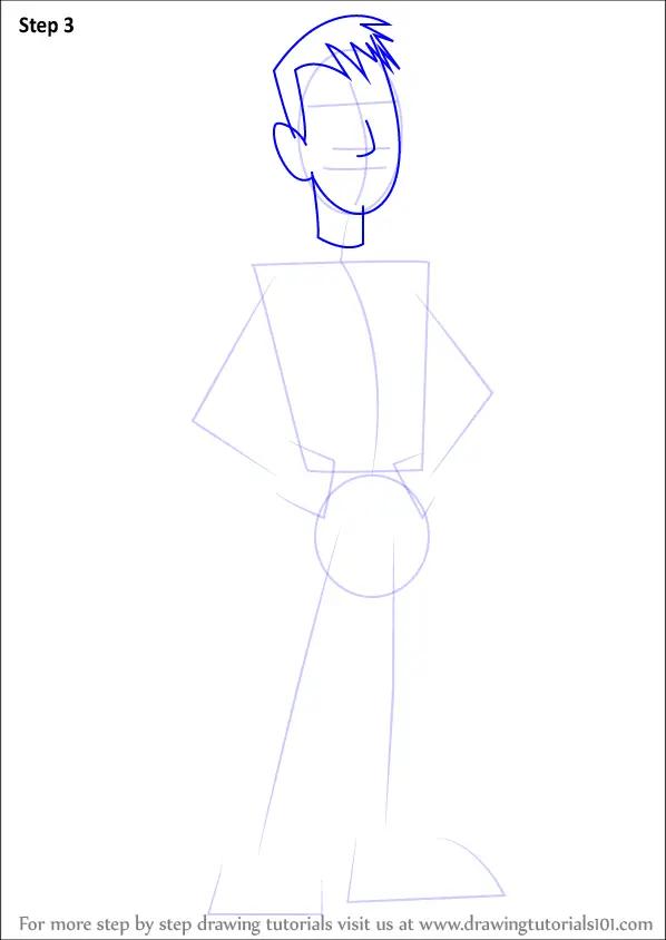 Learn How To Draw Martin Kratt From Wild Kratts Wild