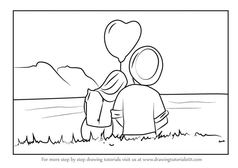 Love Drawings Easy Step Step