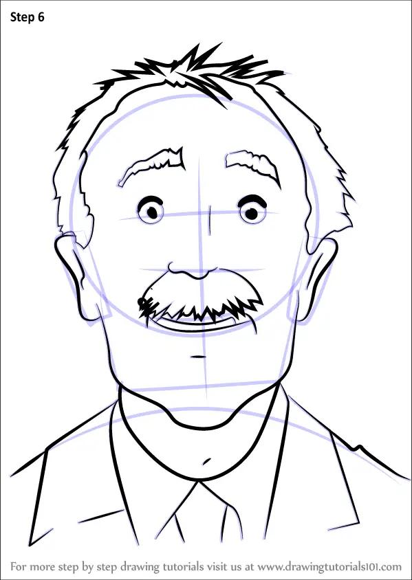 Learn How To Draw Mr Scary From Junie B Jones Junie B