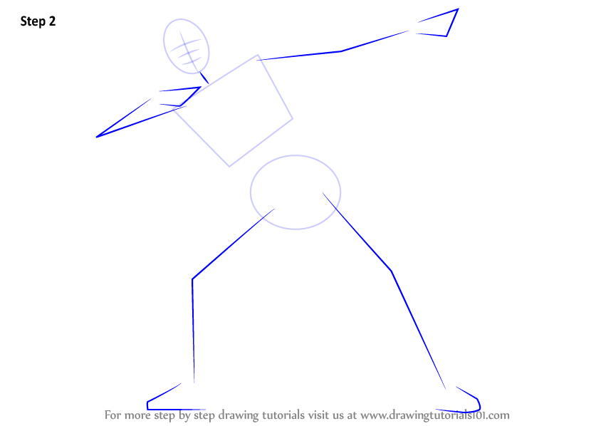 Learn How To Draw Usain Bolt Other People Step By Step