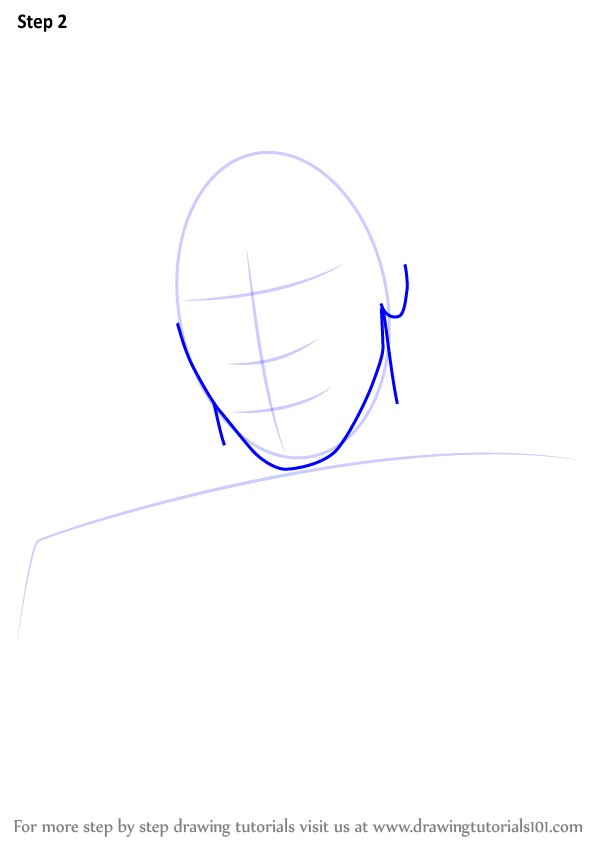 Step By Step How To Draw Lil Yachty