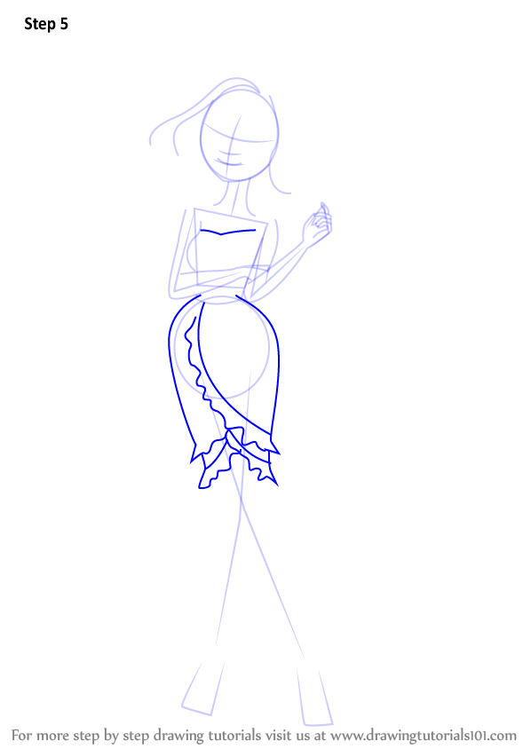 Learn How To Draw Briar Beauty From Ever After High Ever