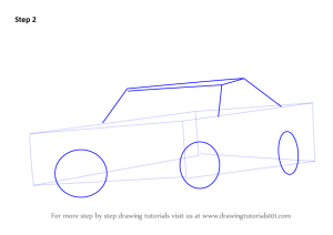 Learn How to Draw a 1969 Dodge Charger (Cars) Step by Step