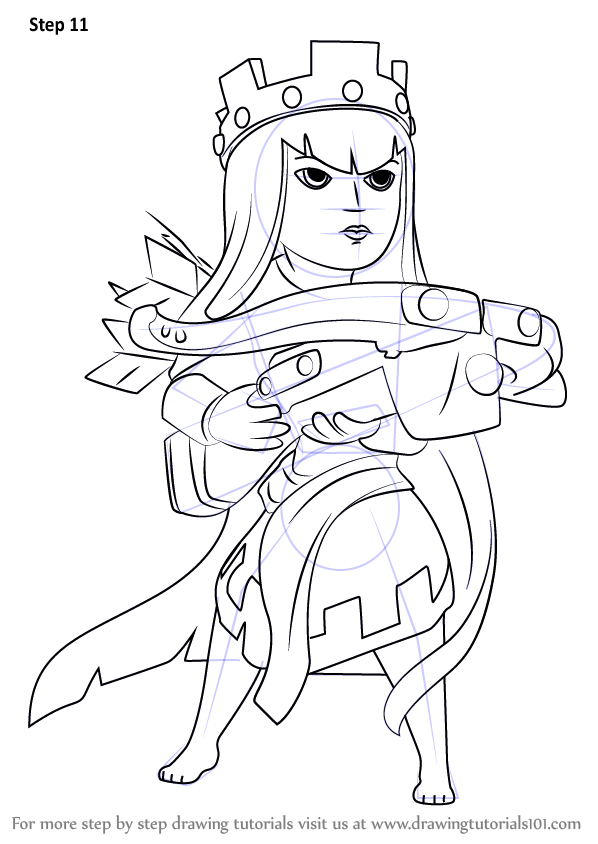 clash of clans archer coloring pages coloring pages