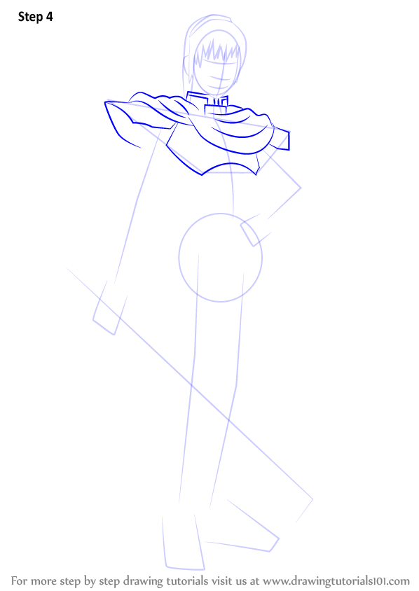 Step By Step How To Draw Marth From Super Smash Bros