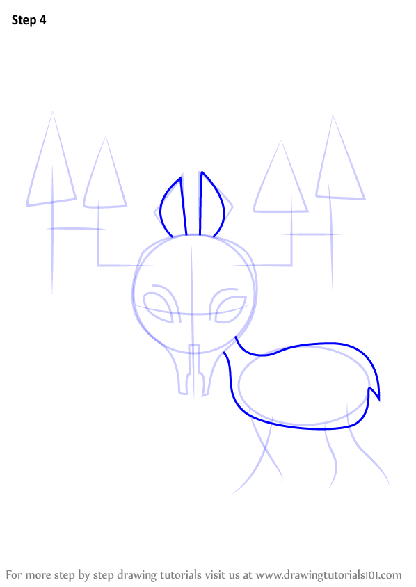 Learn How To Draw Gyftrot From Undertale Undertale Step