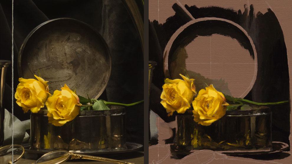 Quot Yellow Flowers Quot Timelapse Draw Mix Paint