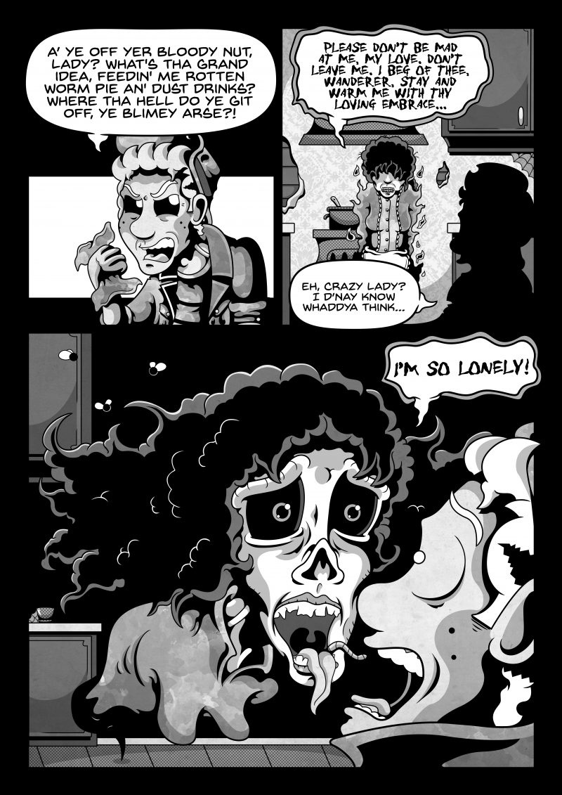 Lonesome Ghost Page 09