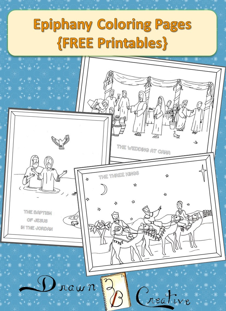 Colouring pages for epiphany - Epiphany Coloring Pages