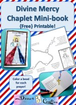Divine Mercy Mini Book badge