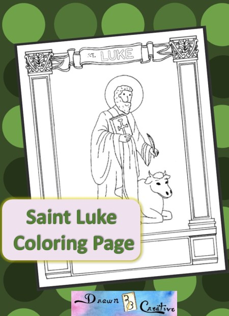 bible luke coloring pages - photo#32