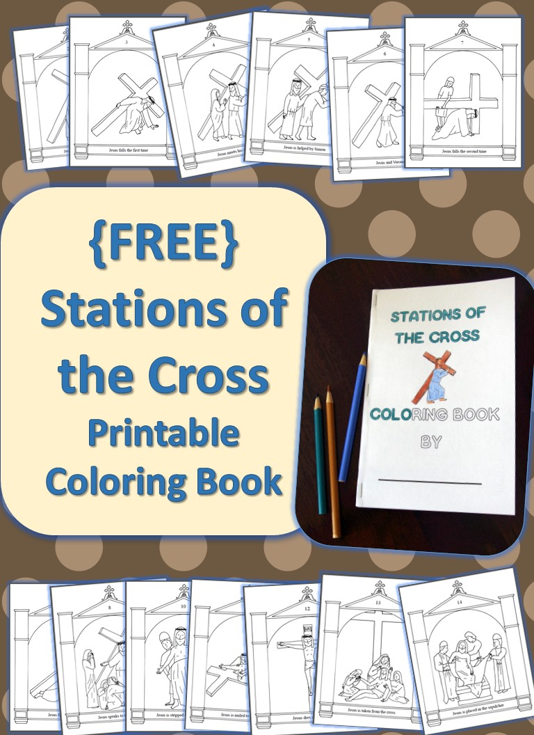 This is a photo of Fan Printable Stations of the Cross