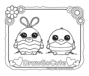 www drawsocute com coloring pages draw so cute page 3 cute drawing videos coloring