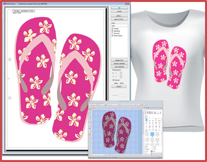 Textile printing (Heat transfer printing) 2