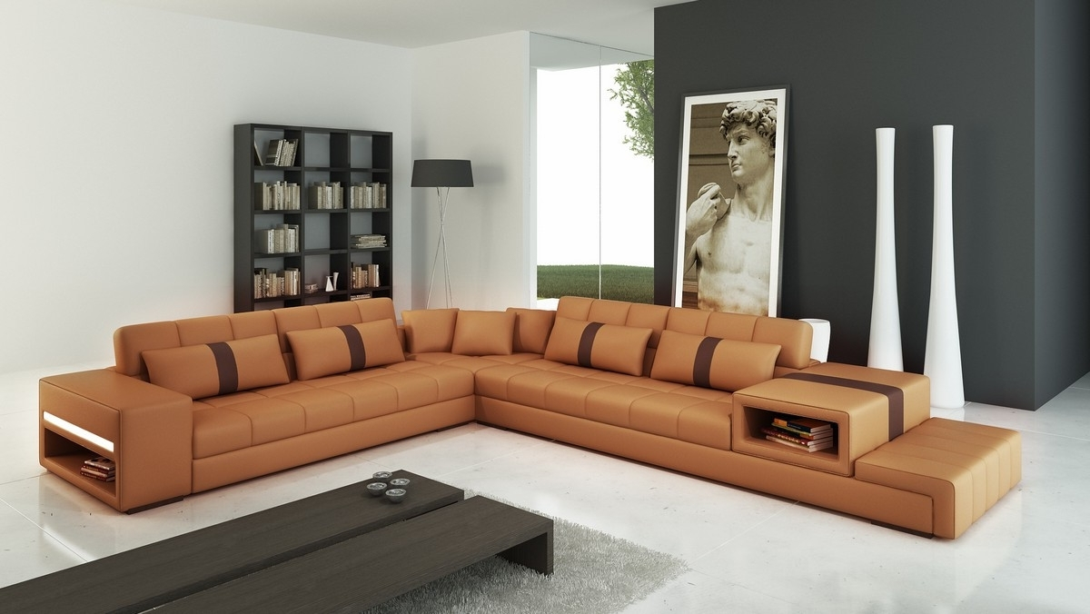 photos of camel colored sectional sofas
