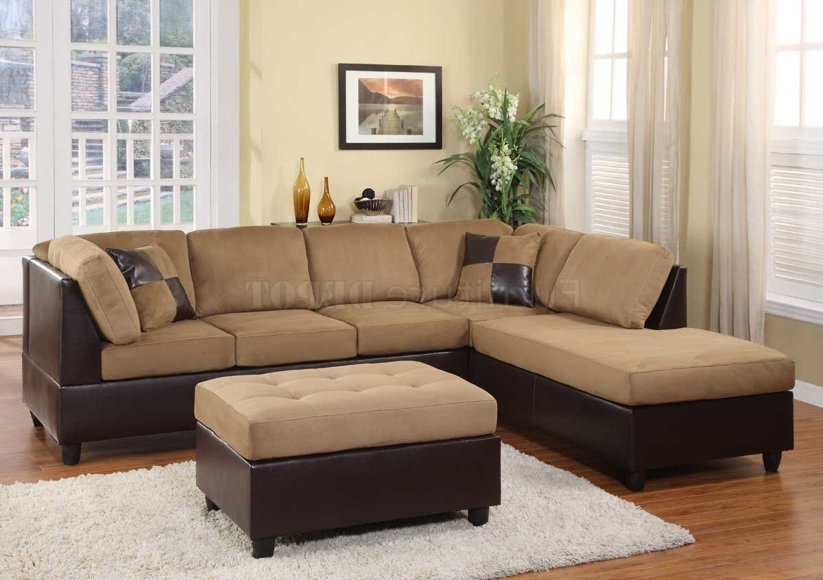 20 inspirations microsuede sectional sofas