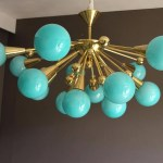 Explore Photos Of Turquoise Blown Glass Chandeliers Showing 8 Of 20 Photos