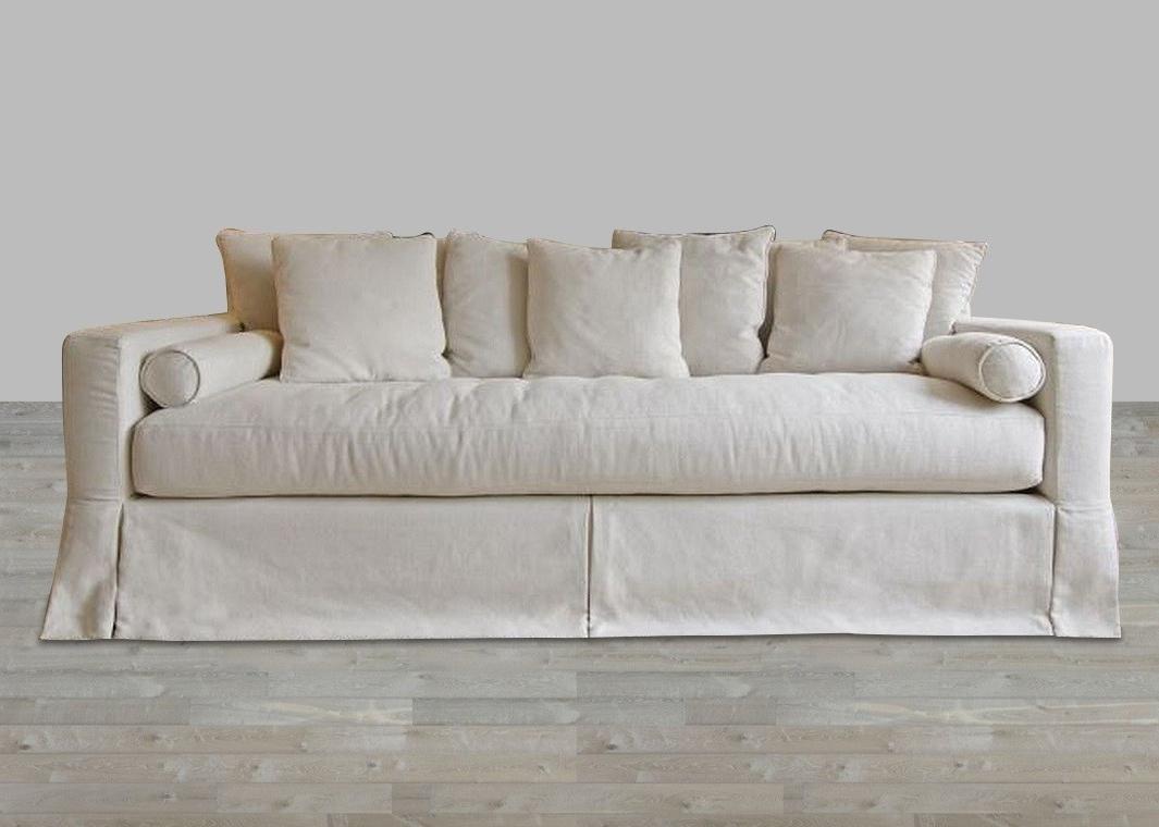 photo gallery of deep cushion sofas