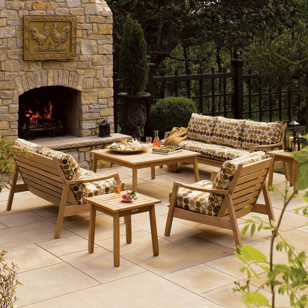 2021 latest wood patio furniture