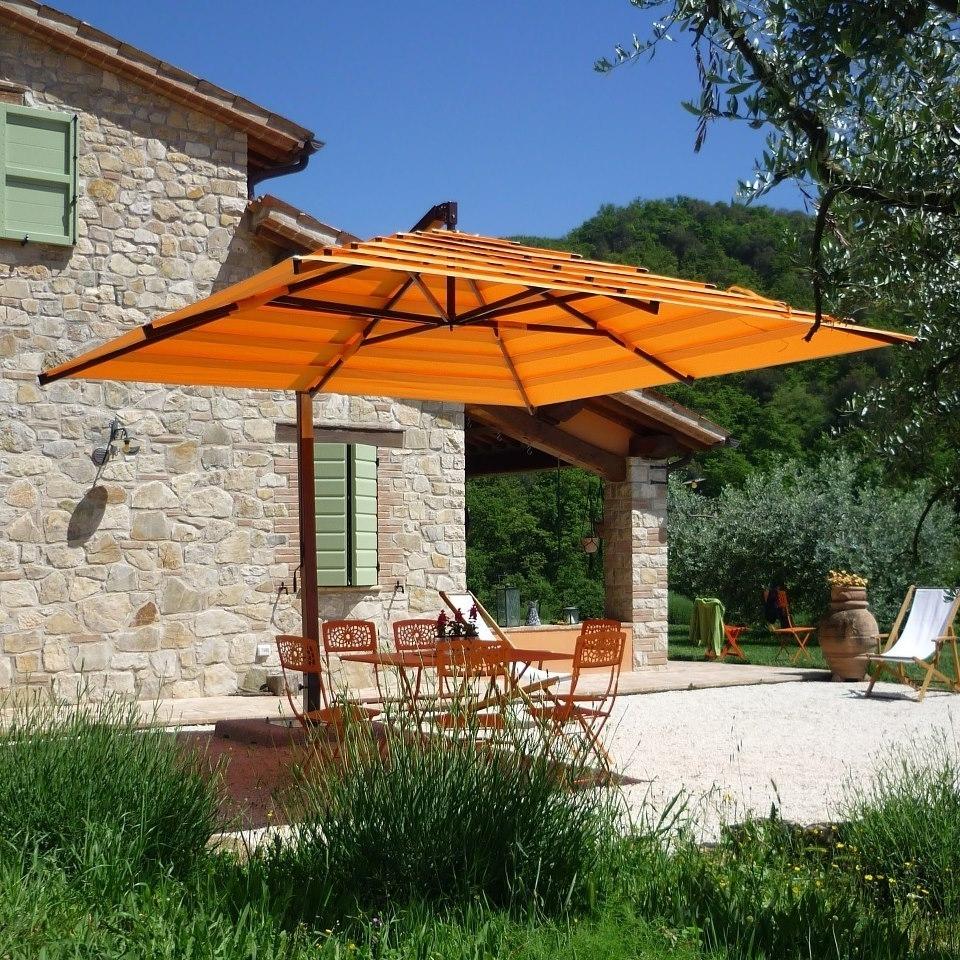 rectangular patio umbrellas