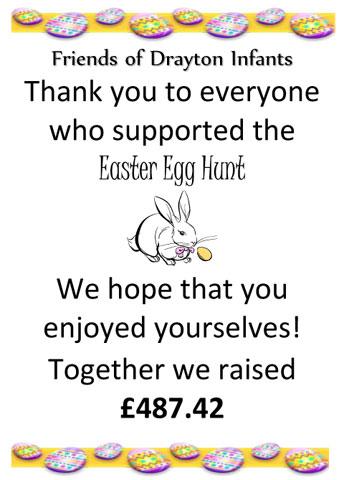 Easter Egg Hunt Thank you