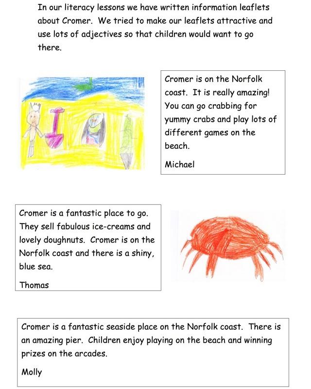 Frog Class Seaside Topic 2