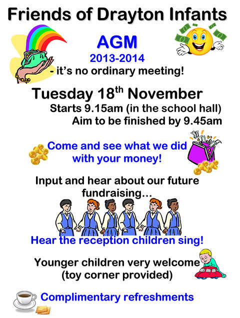 DCIS Friends AGM - Tuesday 18th November 2014