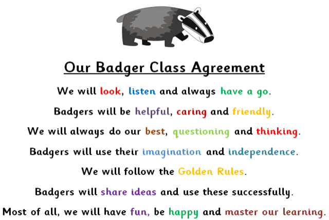 Badger Class Drayton Community Infant School Page 2