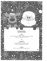 Christmas Menu – Friday 8th December