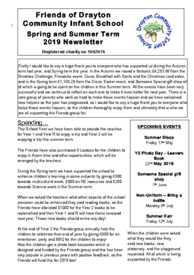 thumbnail of Friends Newsletter May 2019