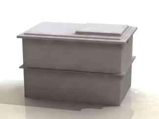 Two Piece GRP Storage Tanks