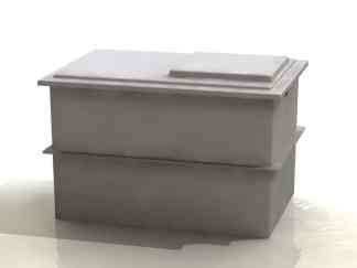 Two Piece Water Tank - 1500 litres