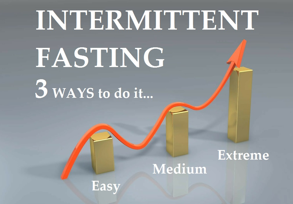 3 Ways to Do Intermittent Fasting: Easy, Medium, & Extreme