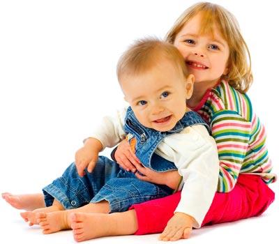 Happy Kids visit a pediatric dentist.