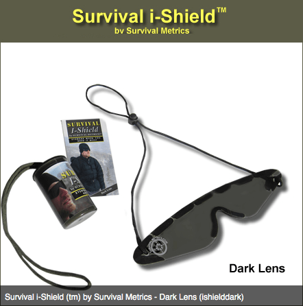 Survival i-Shield (tm) by Survival Metrics - Dark Lens (ishielddark)