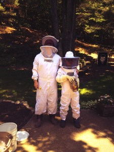 Dr. Brian Stork and Son Beekeeping in Michigan