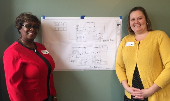 Ms. Carolyn Walker and Ms. Janice Buist Step Up house plans.