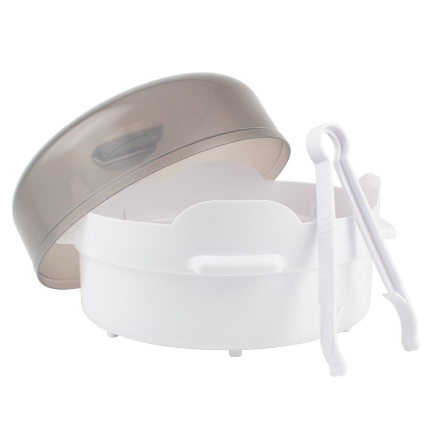 dr brown s natural flow baby bottle microwave steam sterilizer
