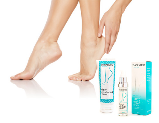 Dr. Canuso foot care items
