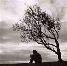 Man Alone in Grief